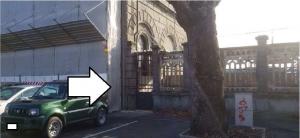 Modena accesso provvisorio stazione